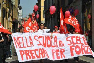 Precari Scuola: la Campania ancora ai primi Posti in Italia
