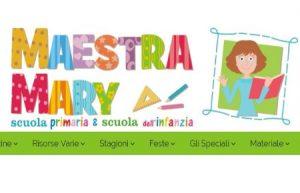 Maestra Mary: il sito web sulla scuola dell'infanzia