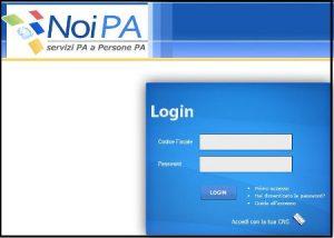 NoiPA Area Riservata come recuperare User e Password