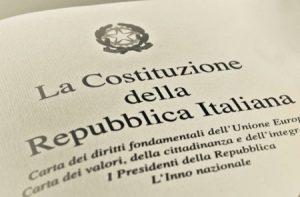 Scuola: dall'8 Gennaio arriva la costituzione italiana in tutte le classi