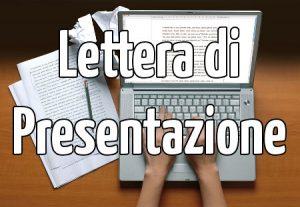 Lettera di Presentazione, Struttura ed Esempio