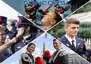 Concorsi Difesa: 256 Allievi Marescialli Esercito, Marina, Aeronautica