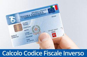Verifica Codice Fiscale, Calcolo del Codice Fiscale Inverso