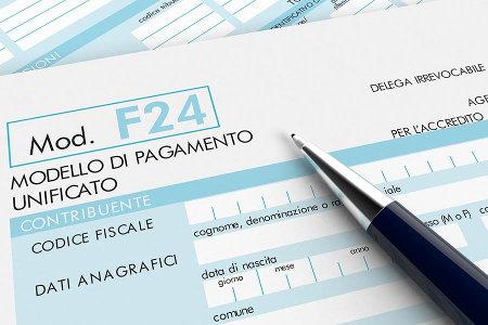 F24 EDITABILE SCARICA
