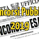 Concorsi Pubblici 2019: ecco i bandi pubblici più attesi