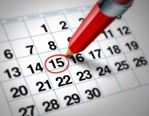 Date Pagamento Pensioni 2019, calendario dei pagamenti di ogni mese