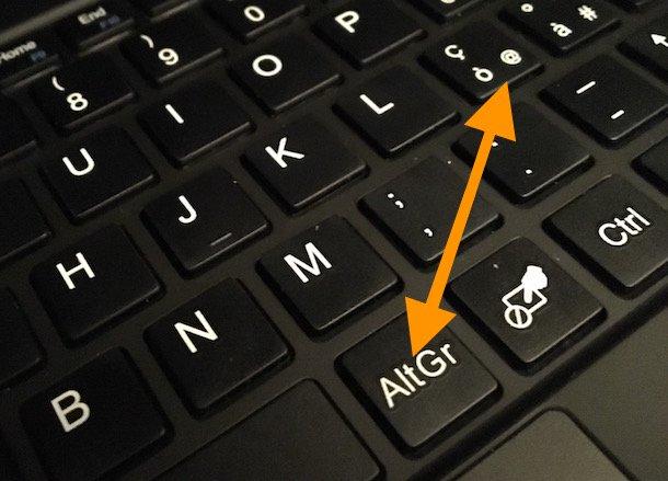 Come fare la chiocciola sulla tastiera del tuo Computer ...