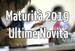Novità Maturità 2019: Materie Commissari Esterni, Materie seconda prova e Colloquio.