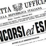 Concorsi Pubblica Amministrazione 2019: In Gazzetta Bando da 28 Posti