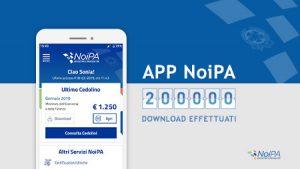 Applicazione NoiPa: Oltre 200mila download in poche settimane, ecco come funziona